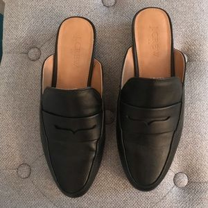 J Crew backless loafers